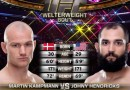Johny Hendricks vs Martin Kampmann fight video