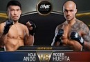 Koji Ando vs Roger Huerta fight video