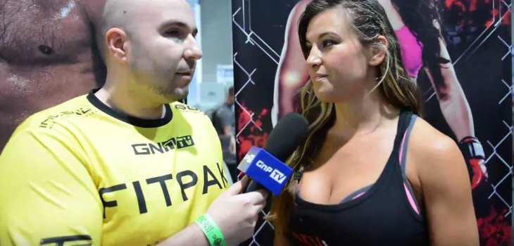 Miesha Tate tits