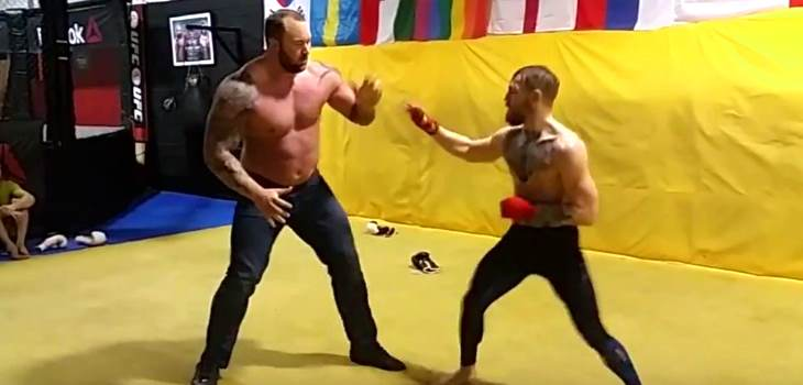 Conor McGregor vs the Mountain