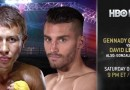 Golovkin vs Lemieux fight