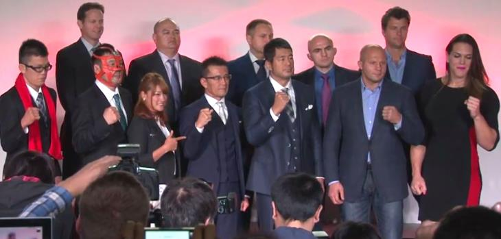 RIZIN FIGHTING FEDERATION fighters Fedor