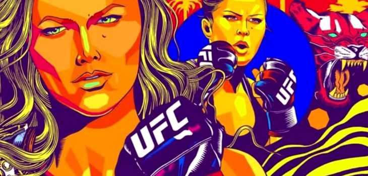 Ronda Rousey Mural