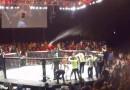 Throwing beer UFC