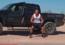 Michael Chandler MMA Truck