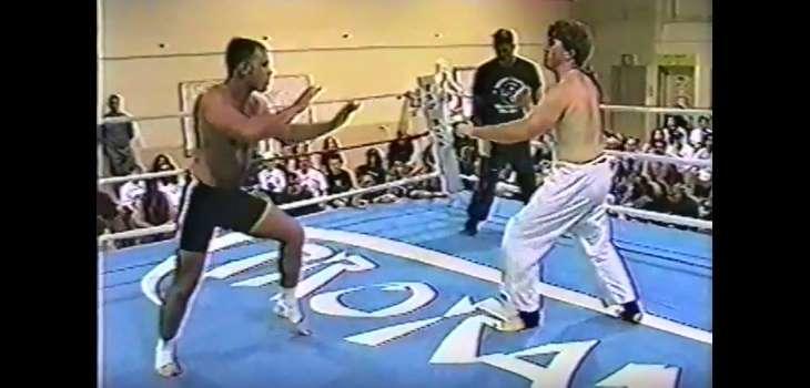 Old School MMA fight
