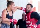 Ronda Rousey punches edmond tarverdyan