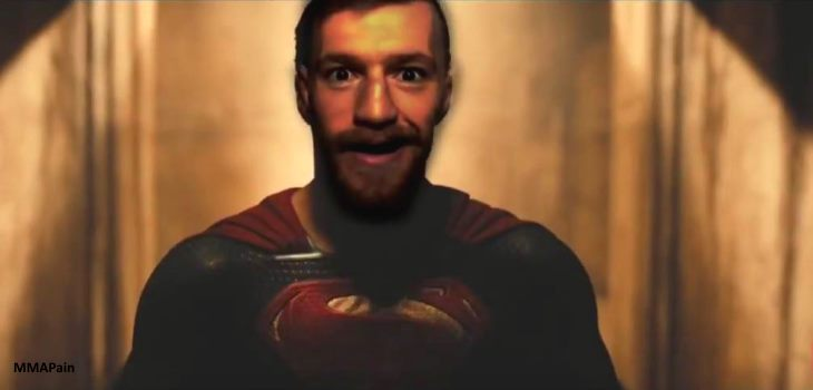 Conor McGregor Superman