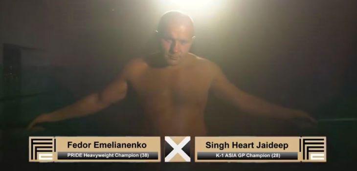 Fedor Emelianenko vs. Jaideep Singh
