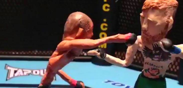 Jose Aldo vs Conor McGregor Claymation