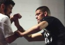 Nick and Nate Diaz Training