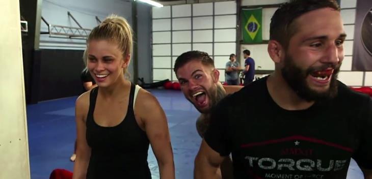 Paige VanZant Trainning 2015