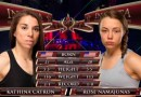 Rose Namajunas vs Kathina Catron fight video