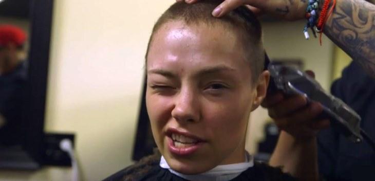 Thug Rose Gets Shave