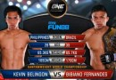Bibiano Fernandes vs Kevin Belingon fight video