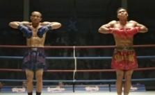 Muay Thai fighter funny