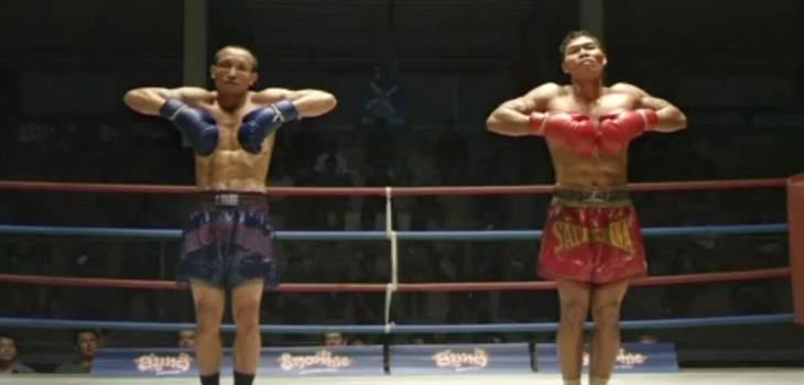 Muay Thai fighter funny