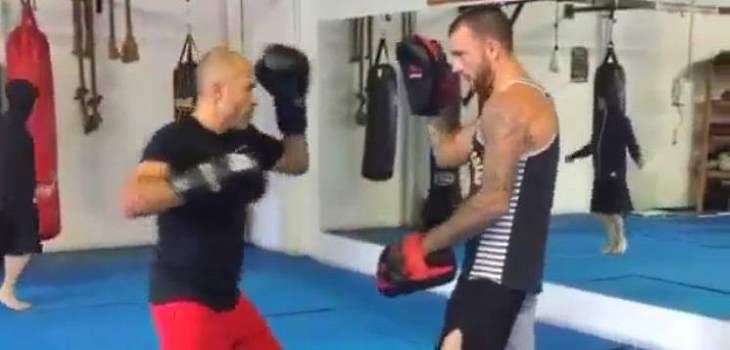 Royce Gracie punching speed