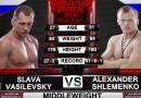 Alexander Shlemenko vs Vyacheslav Vasilevsky fight video
