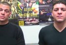 Nate and Nick Diaz Talk crap