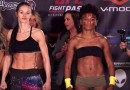 Angela Hill vs. Stephanie Eggink fight video