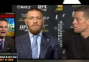 Conor McGregor and Nate Diaz ufc 196 funny