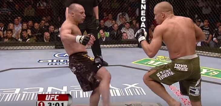 GSP vs Matt Serra 1
