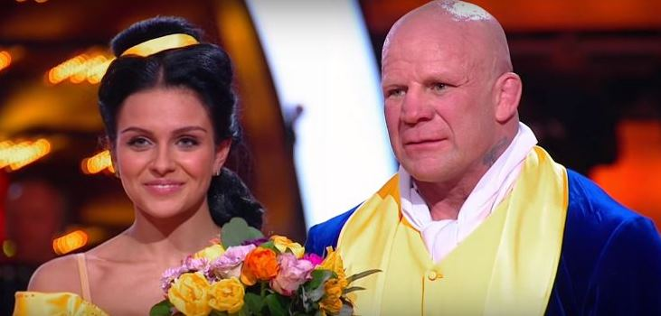 Jeff Monson on Dancing with the Stars