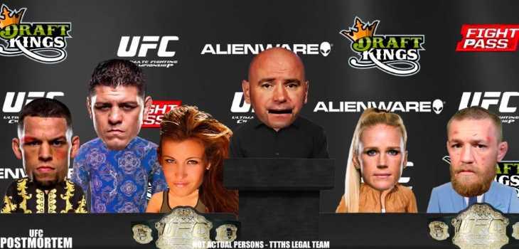 UFC 196 post fight