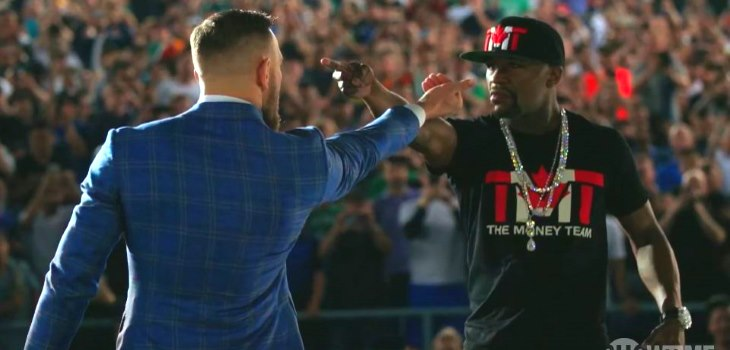 Mayweather vs. McGregor videos