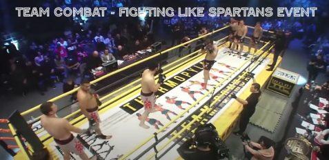 Team Combat Fighting Like Spartans Event NS Team vs Kuznya Team